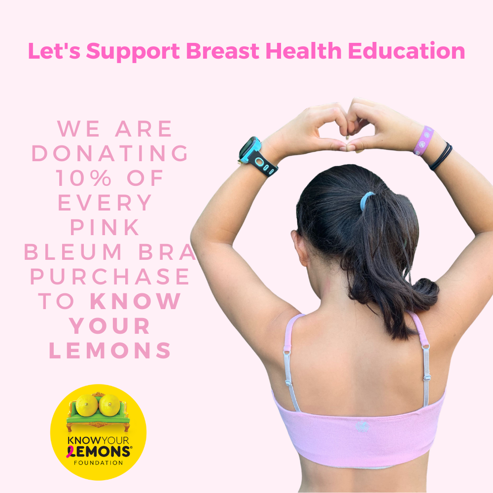 Bleuet Partners with Know Your Lemons for Breast Cancer Awareness Month
