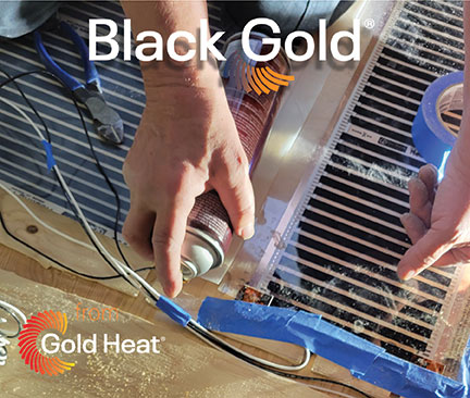 Gold Heat Plans to Introduce Its Low-Profile Radiant Floor Heat Film Product at 2022 KBIS Show in Orlando, Florida