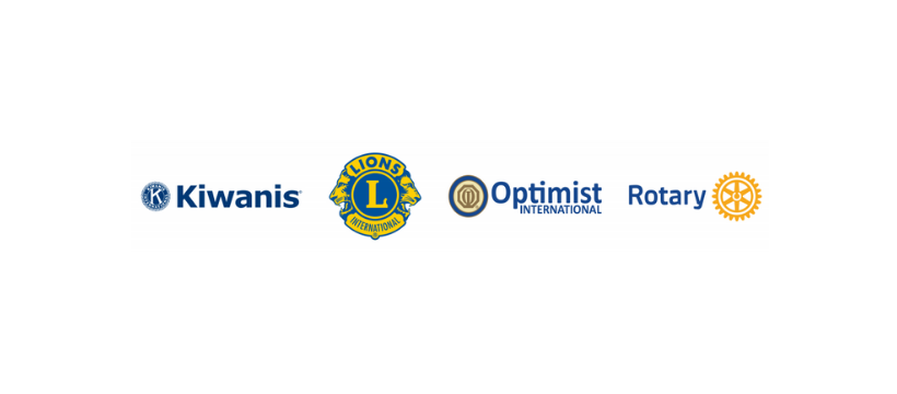 Kiwanis, Lions, Optimist, Rotary, Join for Week of Service to Celebrate Community