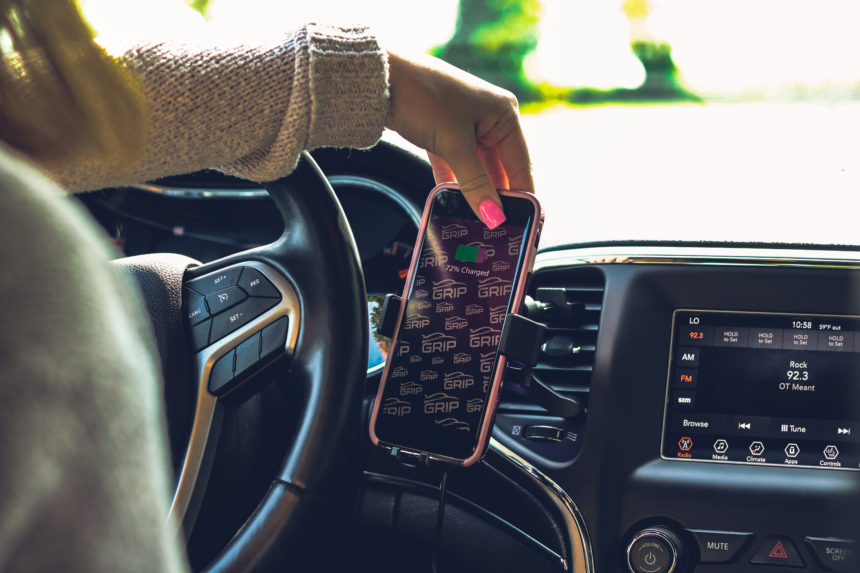 GRIP, a Verizon Wireless Exclusive Brand by DE World, Recently Launched the Grip All-in-1 Wireless Charging Phone Mount