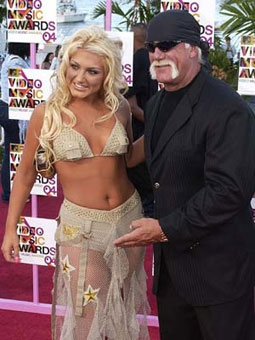Brooke Hogan & Hulk Hogan