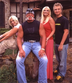 Brooke Hogan, Hulk Hogan, Linda Hogan, & Nick Hogan
