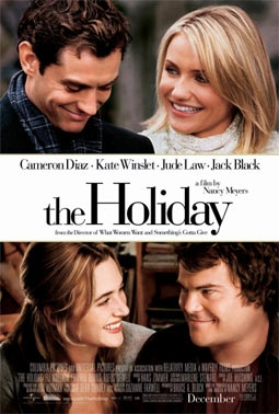 Jude Law, Jack Black, Cameron Diaz & Kate Winslet in The Holiday