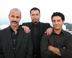 """The Axis of Evil Comedy Tour"": Maz Jobrani, Ahmed Ahmed, Aron Kader"