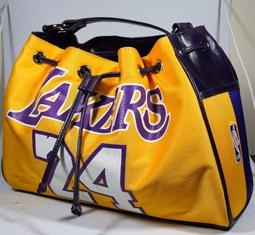 NBA Basketball Logo Women's Handbags by Kgadi