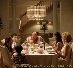 Robert Iler, James Gandolfini, Jamie-Lynn Sigler, & Edie Falco: The Sopranos