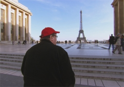 Michael Moore, in Paris in Sicko