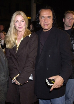 gene simmons and shannon tweed  photos