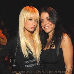 Paris Hilton and Bethenny Frankel