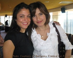 Bethenny Frankel and Mariska Hargitay