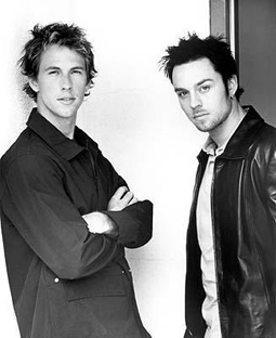 Daniel Jones & Darren Hayes of Savage Garden