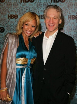 Karrine Steffans & Bill Maher