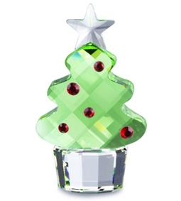 Swarovski's Holiday-Themed Crystal Pieces