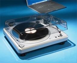 LP-to-MP3 Converter by Hammacher Schlemmer