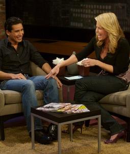 Mario Lopez & Chelsea Handler