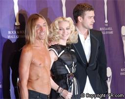 Iggy Pop, Madonna, & Justin Timberlake