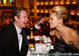 Dan Mathews & Pamela Anderson at The Vienna Opera Ball