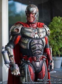 Christopher McDonald as The Hourglass in Superhero Movie
