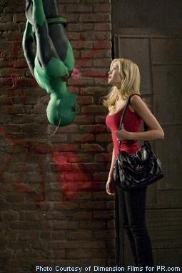 Drake Bell & Sara Paxton in Superhero Movie
