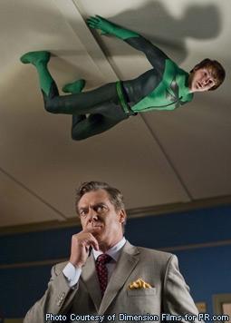 Christopher McDonald & Drake Bell in Superhero Movie