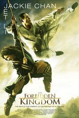 The Forbidden Kingdom with Jackie Chan & Jet Li