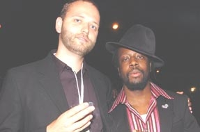 Wyclef Jean at the 6th Annual Children Uniting Nations Oscar Party 2005