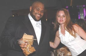 Ruben Studdard at the 6th Annual Children Uniting Nations Oscar Party 2005
