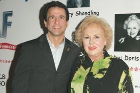 Joe Cristina & Doris Roberts at the 3rd Annual A Night of Comedy