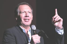 Garry Shandling at the 3rd Annual A Night of Comedy