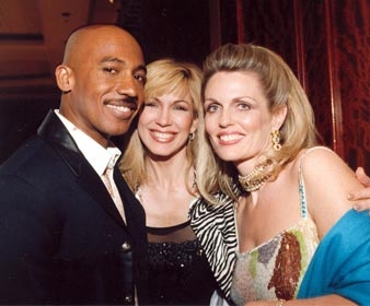 Leeza Gibbons & Montel Williams