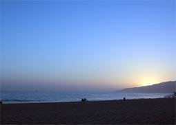 Beautiful Malibu, California Sunset