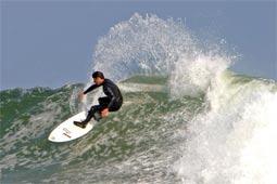Great Surf in Malibu, California