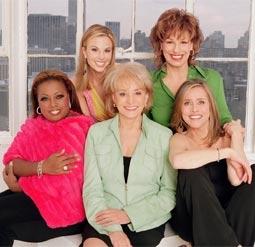 """The View's"" Co-Hosts: Elisabeth Hasselbeck, Joy Behar, Star Jones Reynolds, Barbara Walters, Meredith Vieira"