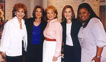 Joy Behar, Barbara Walters, Meredith Vieira, Star Jones Reynolds