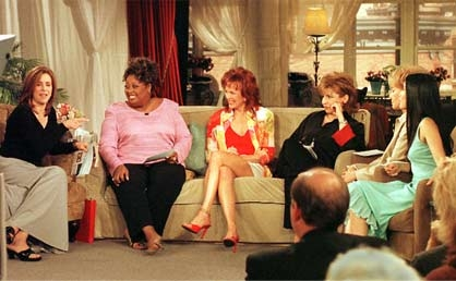"On the set of ""The View"""