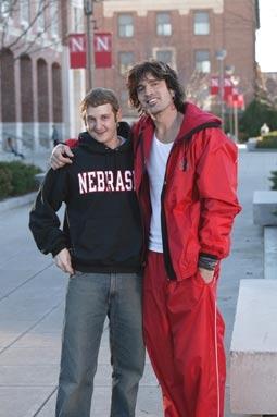 "Matt Ellis & Tommy Lee, of ""Tommy Lee Goes To College"""