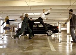 Jason Statham, in One of His Trademark Fight Scenes