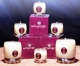 Earth Spirit Light Candles