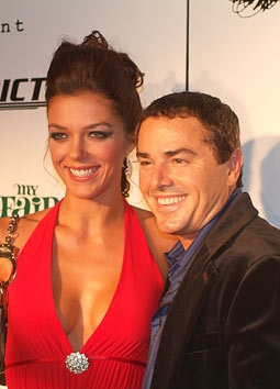 Adrianne Curry & Christopher Knight of My Fair Brady