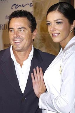 Christopher Knight & Adrianne Curry of My Fair Brady