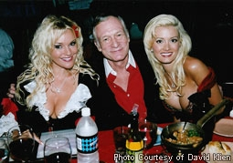 Bridget Marquardt, Hugh Hefner, & Holly Madison