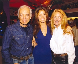 Ralph Lauren (Dad), Dylan Lauren, & Ricky Lauren (Mom)