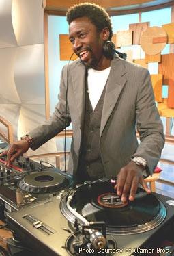 Tony Okungbowa, Mixing on the Set of The Ellen DeGeneres Show