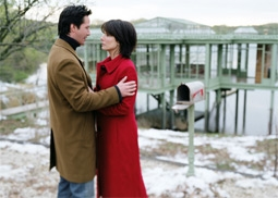 Keanu Reeves & Sandra Bullock, in The Lake House
