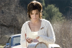 Sandra Bullock, in The Lake House