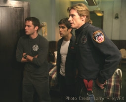 Steven Pasquale, Michael Lombardi & Denis Leary