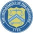 Department of the Treasury logo