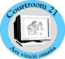 The Courtroom 21 Project Logo