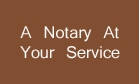 A Notary At Your Service Logo