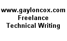 Gaylon N. Cox II - Technical Writing